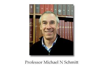 Professor Michael N Schmitt